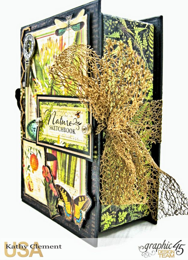 Nature Sketchbook Correspondence Kit Nature Sketchbook by Kathy Clement Product by Graphic 45 Photo 3