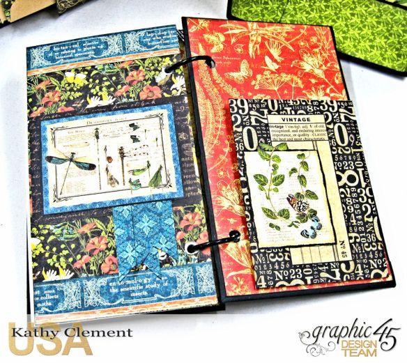 Nature Sketchbook Correspondence Kit Nature Sketchbook by Kathy Clement Product by Graphic 45 Photo 14