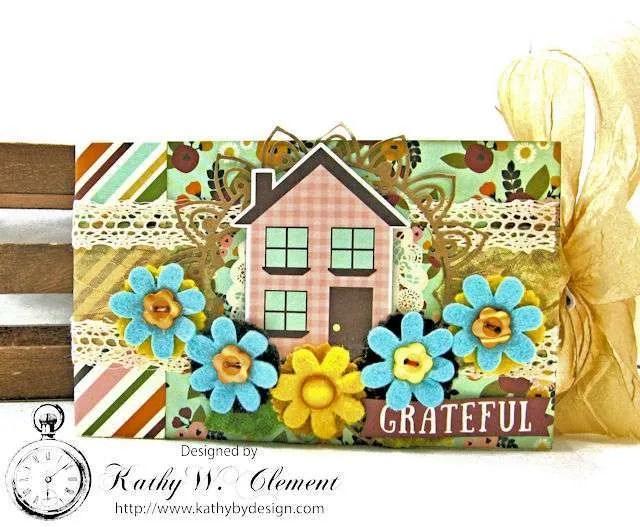 Gratitude Pocket Envelope Mini Album