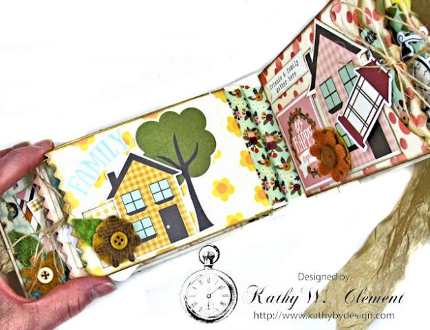 Grateful Paper Bag Envelope Mini Album by Kathy Clement Product by Tammy Tutterow Designs Photo 10