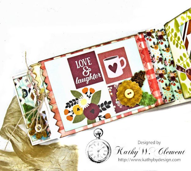 Grateful Paper Bag Envelope Mini Album by Kathy Clement Product by Tammy Tutterow Designs Photo 12