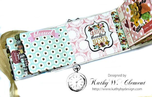 Grateful Paper Bag Envelope Mini Album by Kathy Clement Product by Tammy Tutterow Designs Photo 6