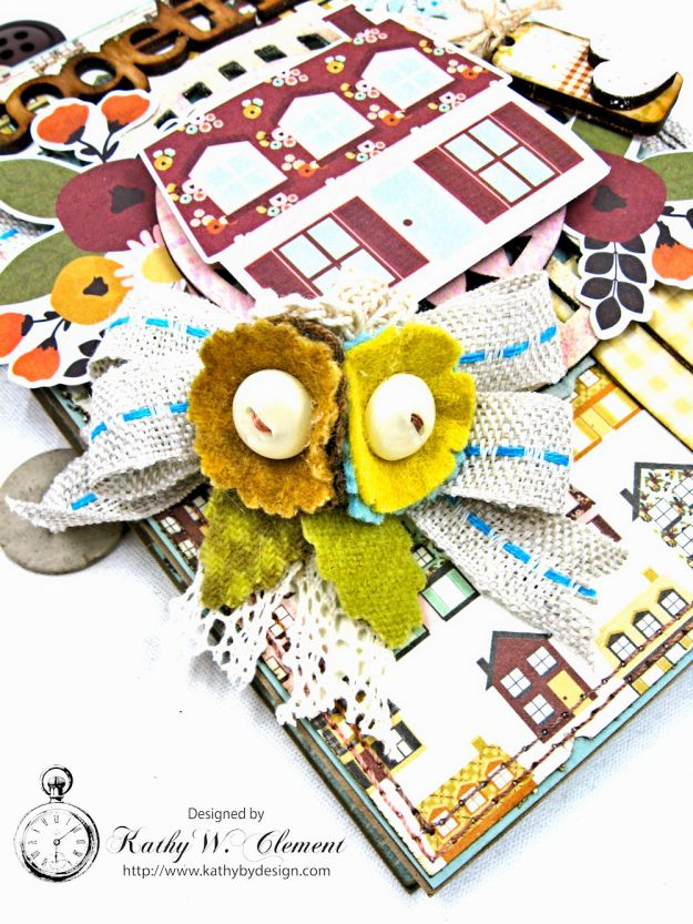 Together Card Folio Vintage Blessings by Kathy Clement for Really Reasonable Ribbon Product by Simple Stories Photo 3