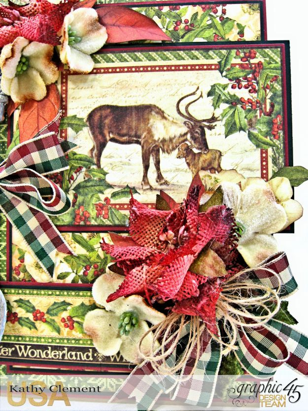 A Spoonful of Christmas Winter Wonderland by Kathy Clement Product by Graphic 45 Photo 2
