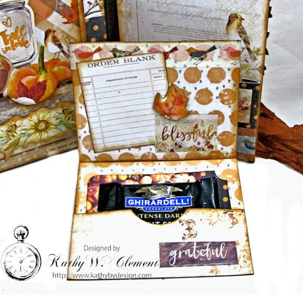 Prima Amber Moon Thankful Heart Folio by Kathy Clement for Tammy Tutterow Designs Product by Spellbinders Photo 13