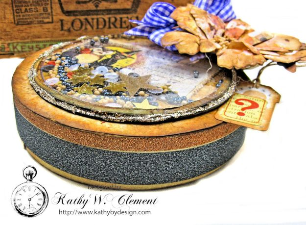You've Been Booed Halloween Shaker Box by Kathy Clement for Frilly and Funkie Photo 6