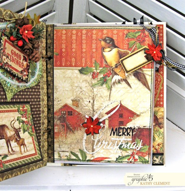 Winter Wonderland December Daily Winter Wonderland by Kathy Clement Product by Graphic 45 Photo 16