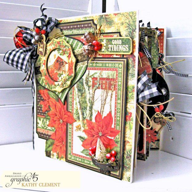 Winter Wonderland December Daily Winter Wonderland by Kathy Clement Product by Graphic 45 Photo 2