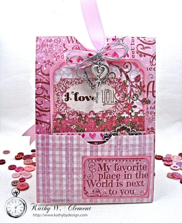 All You Need is Love Valentine and Tag Heartfelt Love by Kathy Clement Product by Heartfelt Creations Photo 7