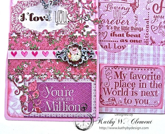 All You Need is Love Valentine and Tag Heartfelt Love by Kathy Clement Product by Heartfelt Creations Photo 5