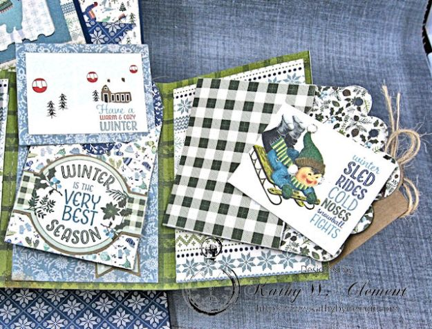 Cold Hands Warm Heart Twist and Pop Up Card Tutorial Cold Hands by Kathy Clement Product by Tammy Tutterow Designs Photo 6