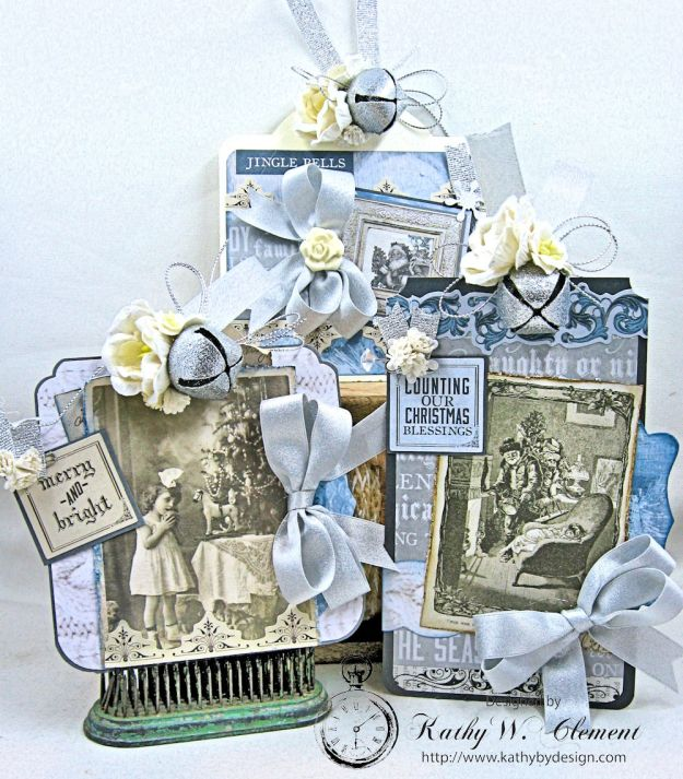 Kaisercraft Frosted Last Minute Gift Tags by Kathy Clement Photo 2