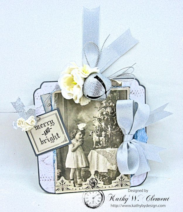 Kaisercraft Frosted Last Minute Gift Tags by Kathy Clement Photo 3
