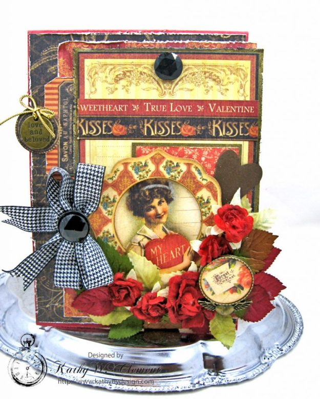 Graphic 45 French Country Vintage Valentine by Kathy Clement Photo 1