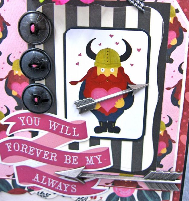 Viking Valentine Wishes Hello Sweetheart by Kathy Clement Valentine Gallery Product by Carta Bella Photo 2