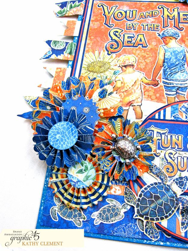 Sun Kissed Jumbo Tag Sun Kissed by Kathy Clement Product by Graphic 45 Photo 5