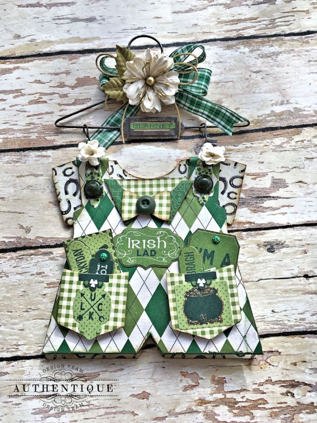 Authentique Shamrock Saint Patrick's Day Home Decor by Kathy Clement Photo 14
