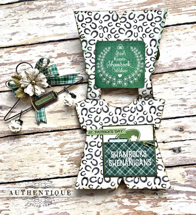 Authentique Shamrock Saint Patrick's Day Home Decor by Kathy Clement Photo 16