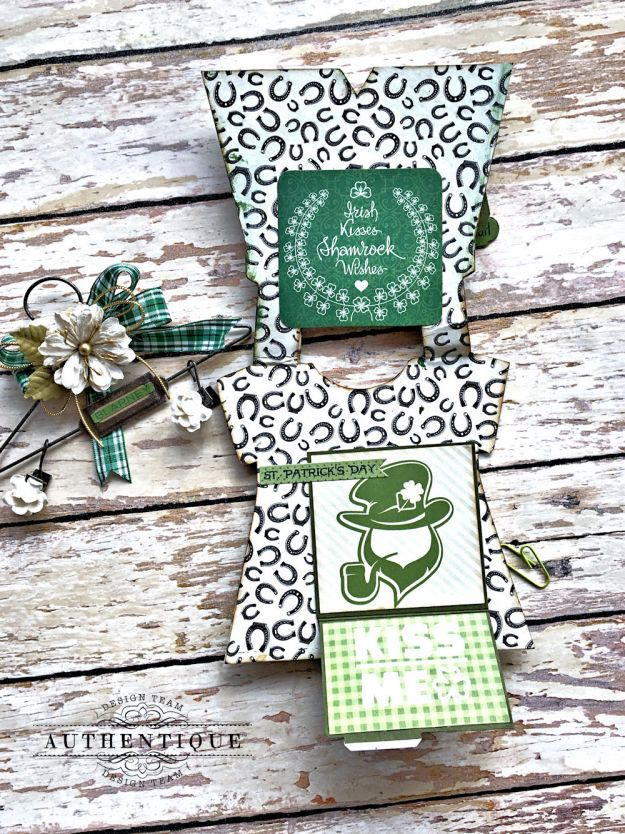 Authentique Shamrock Saint Patrick's Day Home Decor by Kathy Clement Photo 17