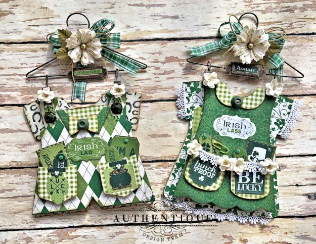 Authentique Shamrock Saint Patrick's Day Home Decor by Kathy Clement Photo 9