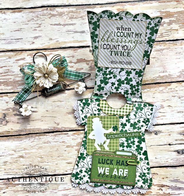 Authentique Shamrock Saint Patrick's Day Home Decor by Kathy Clement Photo 12