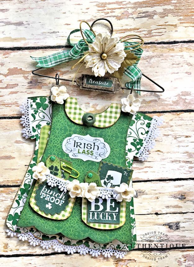 Authentique Shamrock Saint Patrick's Day Home Decor by Kathy Clement Photo 10