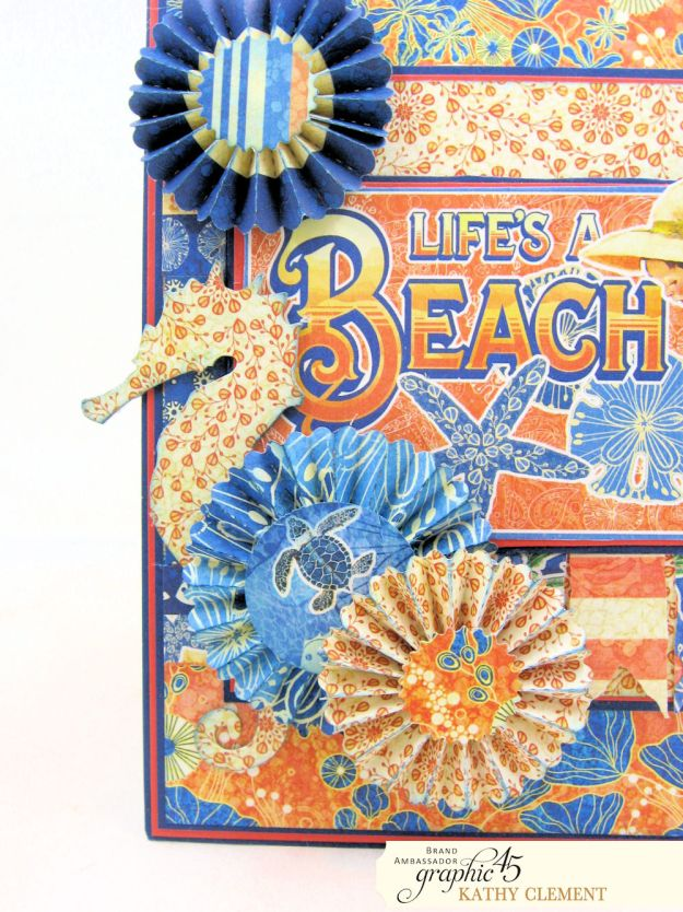 Graphic 45 Sun Kissed Life is a Beach Card Folio Sun Kissed by Kathy Clement Product by Graphic 45 Photo 3