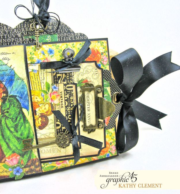 Graphic 45 Something Splendid Trifold Folio Little Women by Kathy Clement Product by Graphic 45 Photo 3