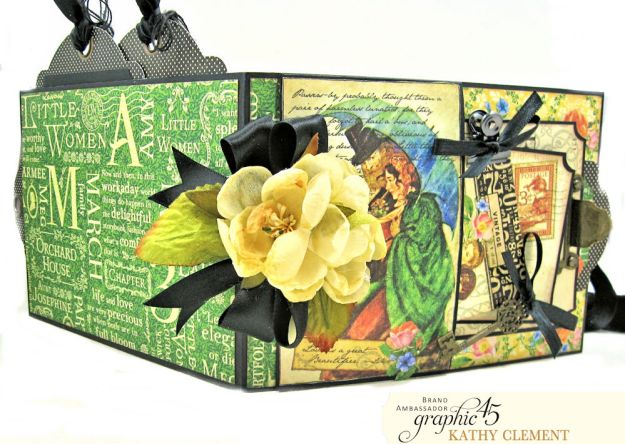 Graphic 45 Something Splendid Trifold Folio Little Women by Kathy Clement Product by Graphic 45 Photo 5