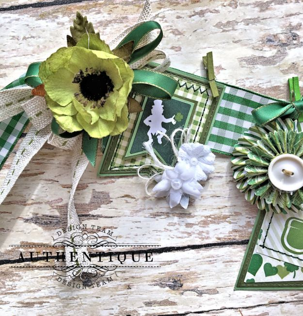 Authentique Shamrock Saint Patrick's Day Home Decor by Kathy Clement Photo 7