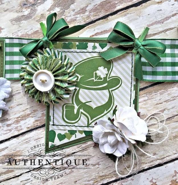 Authentique Shamrock Saint Patrick's Day Home Decor by Kathy Clement Photo 3