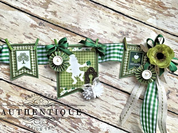 Authentique Shamrock Saint Patrick's Day Home Decor by Kathy Clement Photo 8