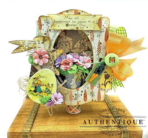 Authentique Jubilee Project Share and Center Step Easel Card Tutorial by Kathy Clement Photo 04