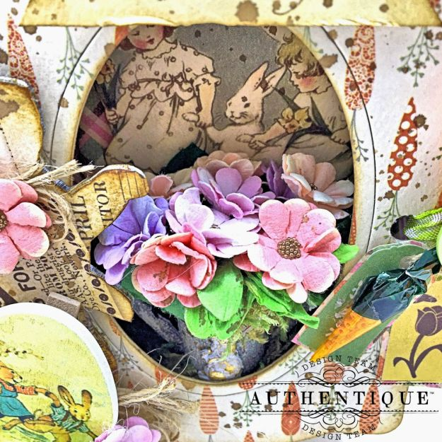 Authentique Jubilee Project Share and Center Step Easel Card Tutorial by Kathy Clement Photo 05