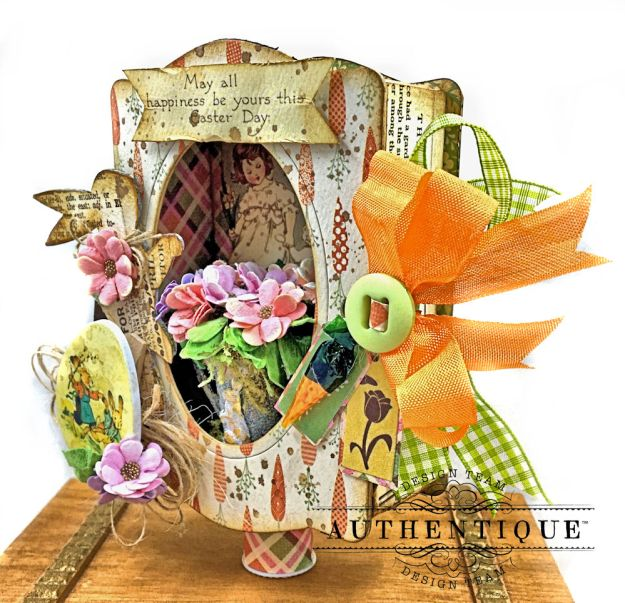 Authentique Jubilee Project Share and Center Step Easel Card Tutorial by Kathy Clement Photo 07