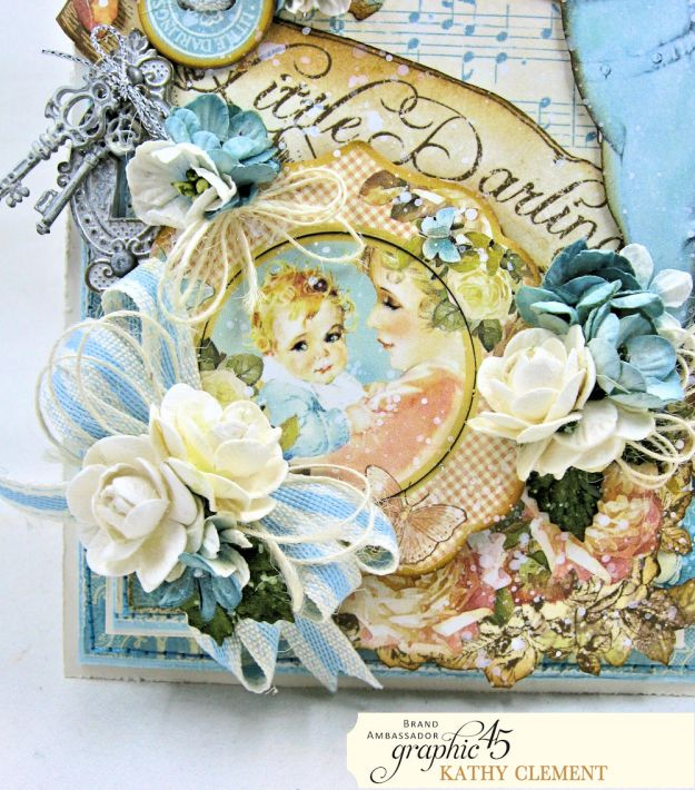 Graphic 45 Little Darlings Little Boy Blue Card Folio Little Darlings by Kathy Clement Product by Graphic 45 Photo 05