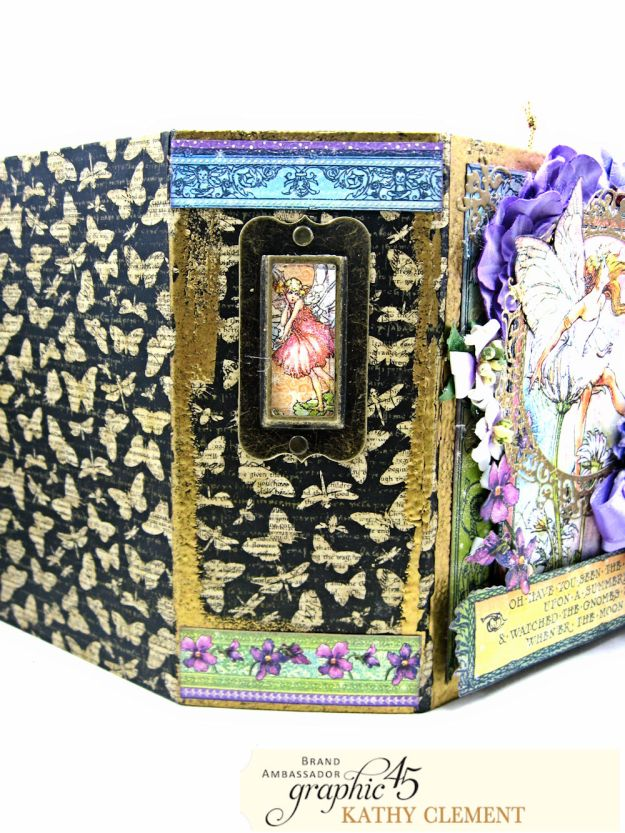 Fairie Dust Mini Album Fairie Dust by Kathy Clement Product by Graphic 45 Photo 04