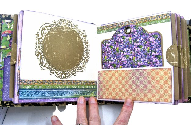 Fairie Dust Mini Album Fairie Dust by Kathy Clement Product by Graphic 45 Photo 06