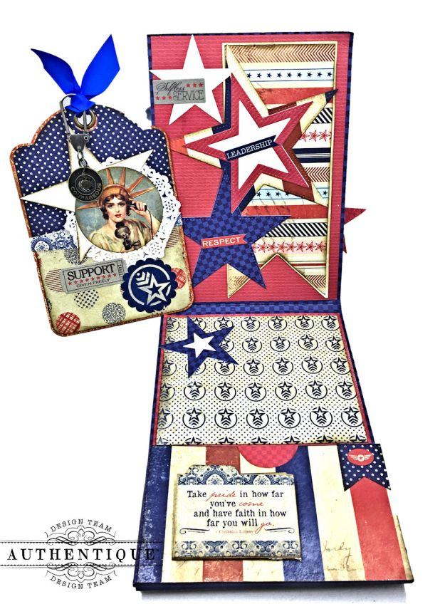 For Home and Country Memorial Day Card by Kathy Clement Photo 04