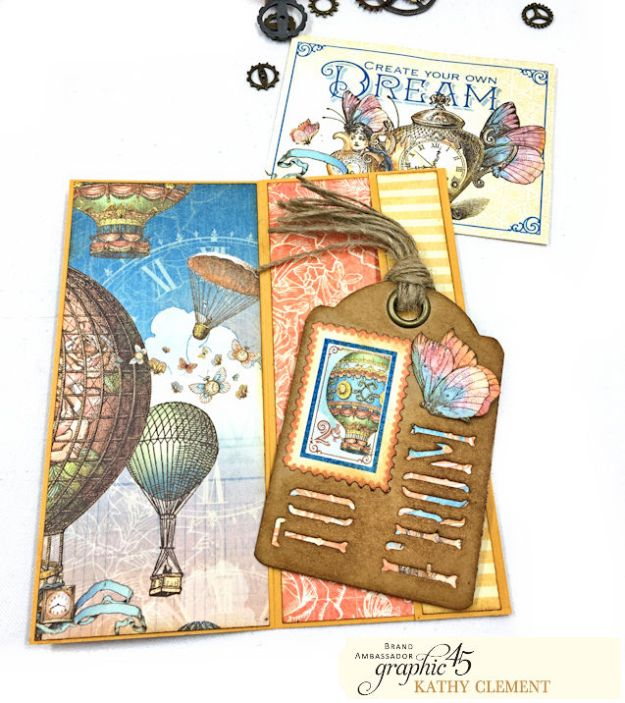 Graphic 45 Imagine Fun Flip Folio by Kathy Clement Product by Graphic 45 Photo 07