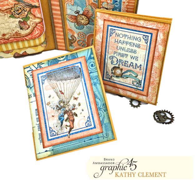 Graphic 45 Imagine Fun Flip Folio by Kathy Clement Product by Graphic 45 Photo 08