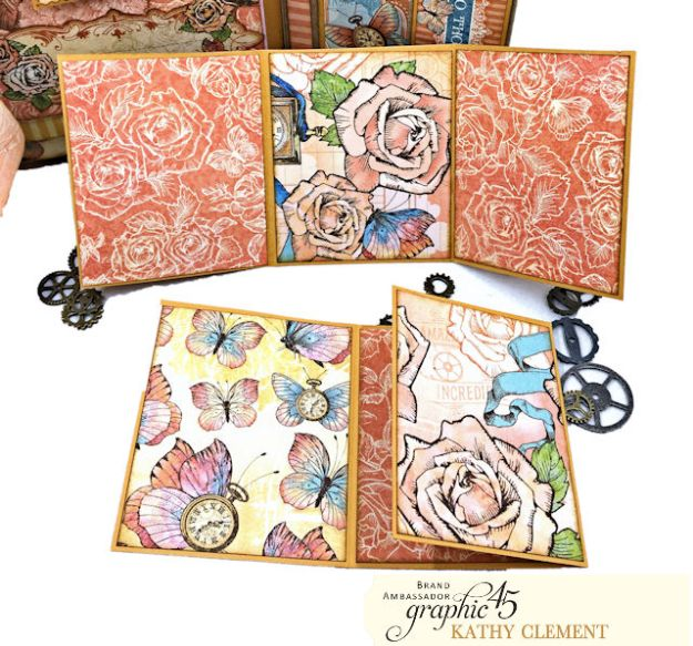 Graphic 45 Imagine Fun Flip Folio by Kathy Clement Product by Graphic 45 Photo 09