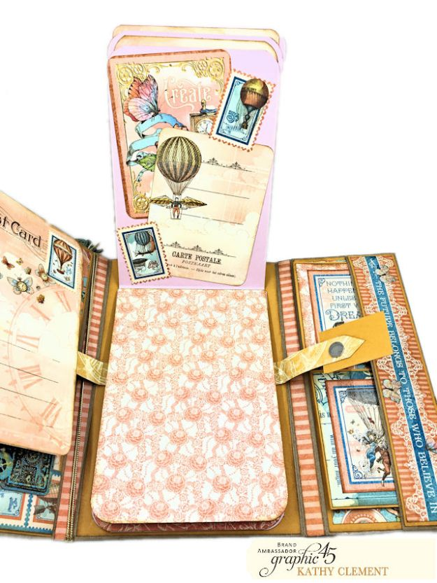 Graphic 45 Imagine Fun Flip Folio by Kathy Clement Product by Graphic 45 Photo 13