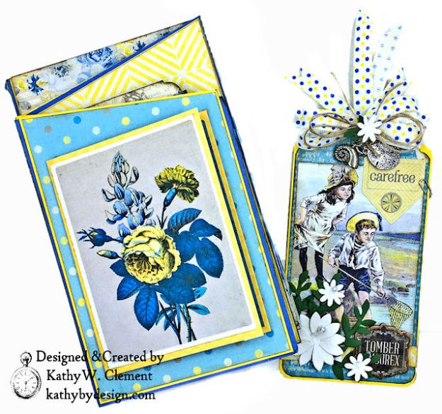 Authentique Felicity Zig Zag Folio Tutorial by Kathy Clement Photo 03