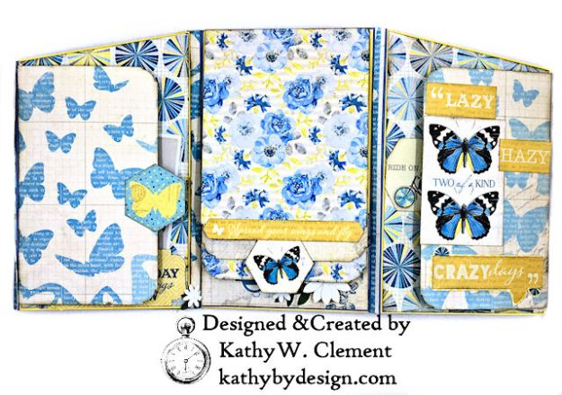 Authentique Felicity Zig Zag Folio Tutorial by Kathy Clement Photo 05