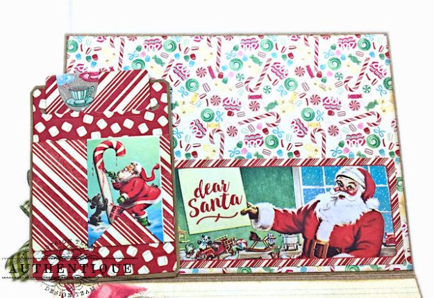 Authentique Jingle Easel Step Card Tutorial by Kathy Clement Photo 05