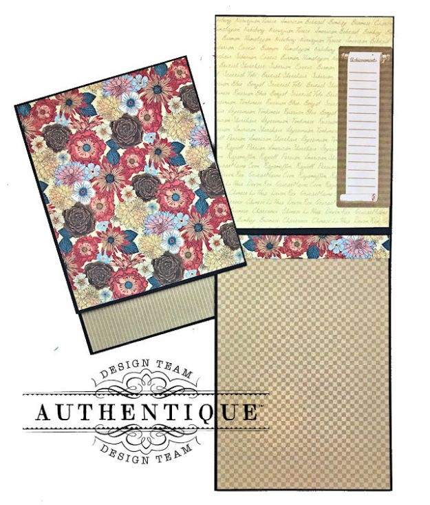 Authentique Paper Goes Back to School Accolade Mini Album by Kathy Clement Photo 10