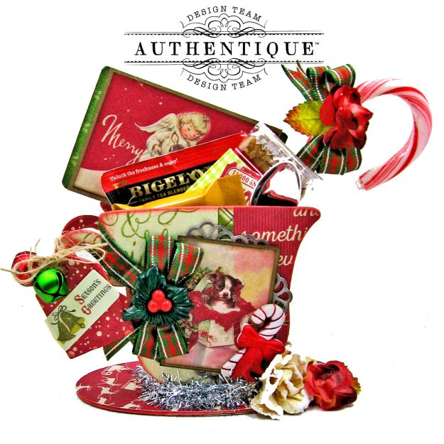 Authentique Nostalgia Christmas Teacups by Kathy Clement Photo 06