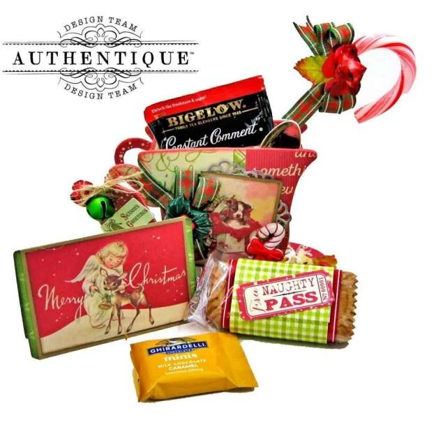 Authentique Nostalgia Christmas Teacups by Kathy Clement Photo 07