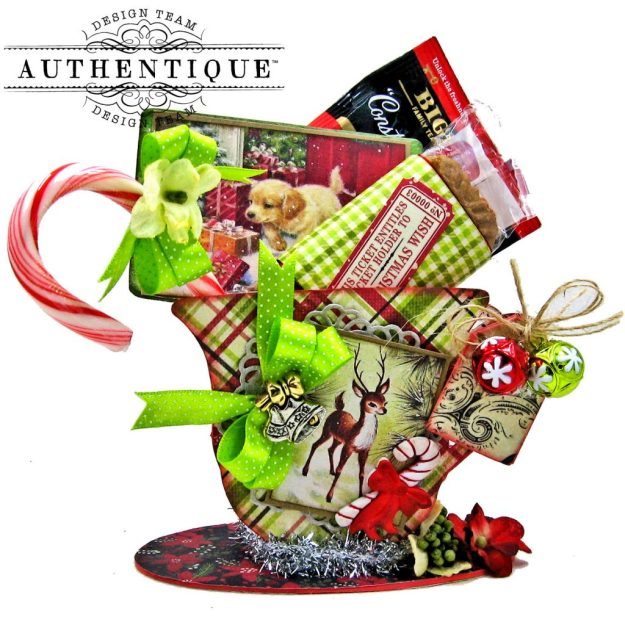 Authentique Nostalgia Christmas Teacups by Kathy Clement Photo 08